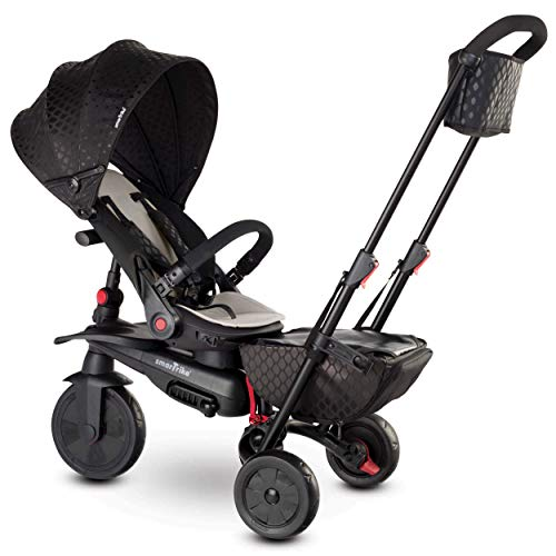 smarTrike smarTfold 700 Folding Baby Tricycle, Black