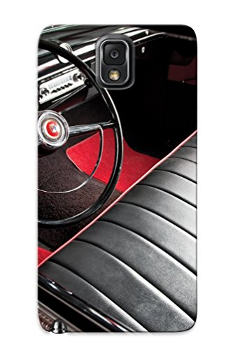 BZNou0OkhFk Awesome 1953 Ford Crestline Sunliner Convertible (76b) Retro Flip Case With Fashion Design For Galaxy Note 3 As New Year's Day's Gift