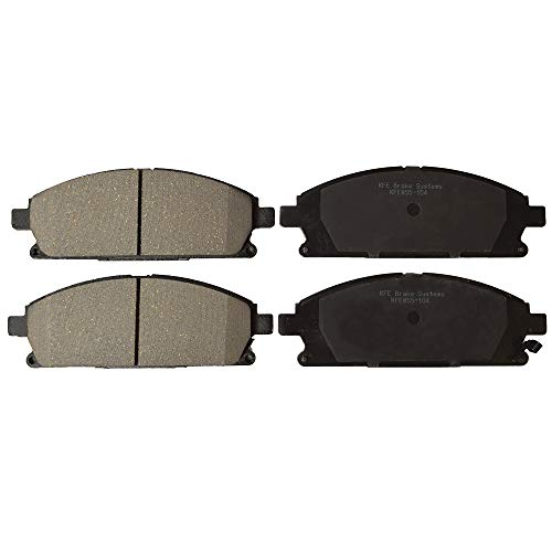 KFE Ultra Quiet Advanced KFE855-104 Premium Ceramic FRONT Brake Pad Set