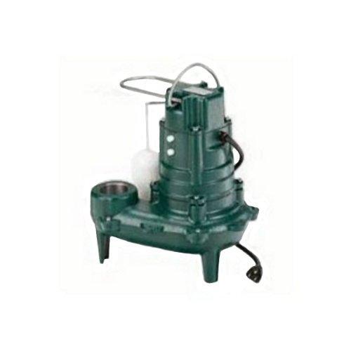Zoeller 267-0001 M267 Waste-Mate Sewage Pump, 1/2 Horsepower, 115V