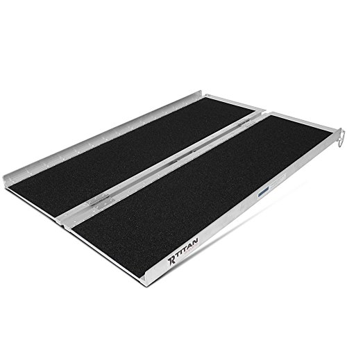 Non-Skid Aluminum Briefcase Traction Ramp Folding Portable (Ramp Step)
