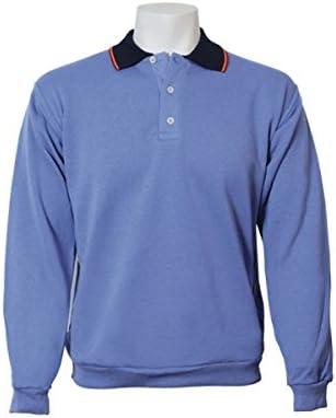 Jumar Sport - Sudadera básica Polo Bandera, Color: Azul Devin ...
