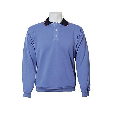 Jumar Sport - Sudadera básica Polo Bandera, Color: Azul Devin, Talla: l: Amazon.es: Deportes y aire libre