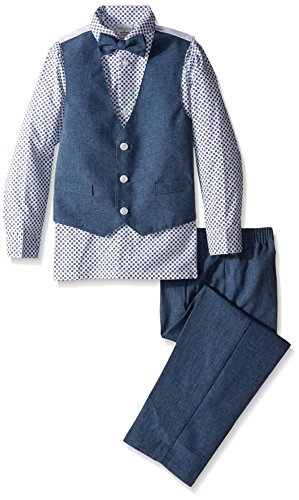 Perry Ellis Little Heather Poplin