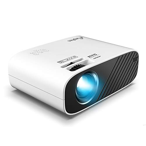 ELEPHAS Mini Movie Projector, with 4000 Lux...
