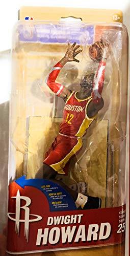 - McFarlene Dwight Howard Figure Series 25 red Jersey Rockets