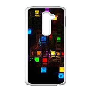 Artistic aesthetic cubes fashion phone case for LG G2