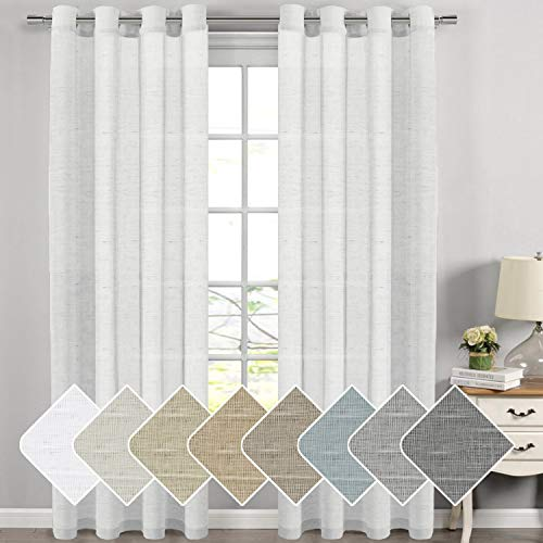Top sheer drapes 108 inches long for 2019