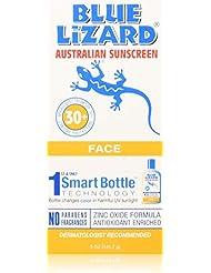 Blue Lizard Australian Sunscreen - Face Sunscreen SPF 30+ Broad Spectrum UVA/UVB Protection,5 oz Bottle