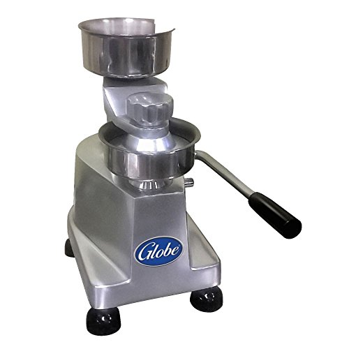 "Globe Food Equipment PP4 Manual Operated 4"" Patty Press"