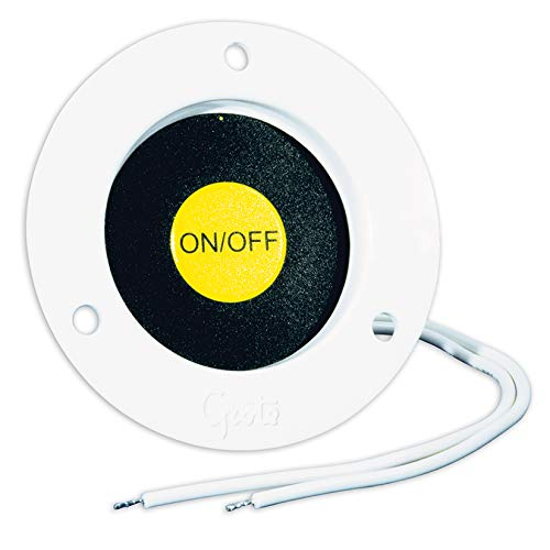 Grote 44380 Recessed Momentary Ground Switch (White)