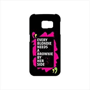 Fmstyles - Samsung S6 Edge Mobile Case - Every blondie needs a brownie
