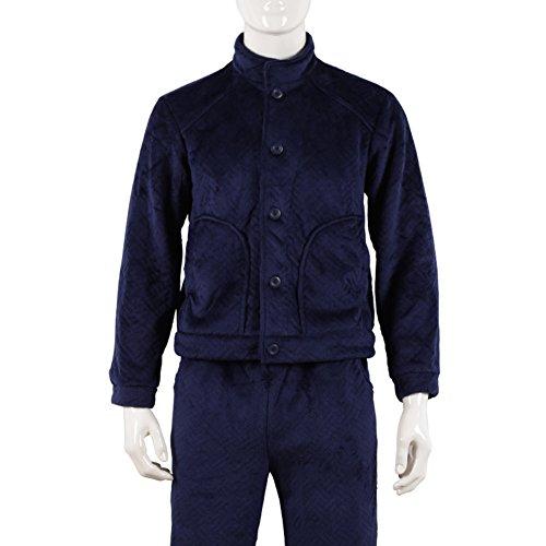 Par modelos de moda de otoño/invierno/ pijamas calientes/Pijamas calientes/ el manto B