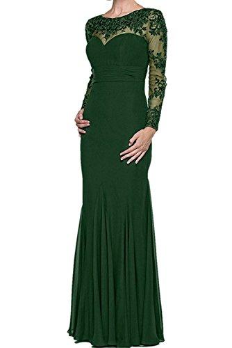 La_mia Braut Schwarz Lang Etuikleider Abendkleider Brautmutterkleider Partykleider Festlichkleider Standsamt Kleider Dunkel Gruen 0kDbSD