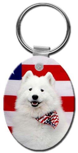 can Eskimo Oval Key Chain ()
