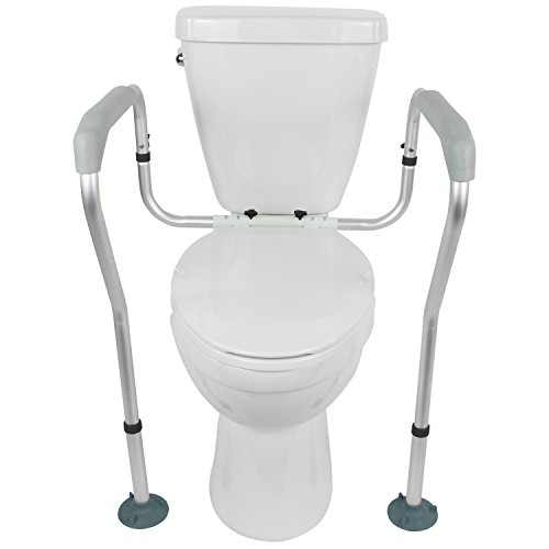 Toilet Rail Vive Bathroom Adjustable