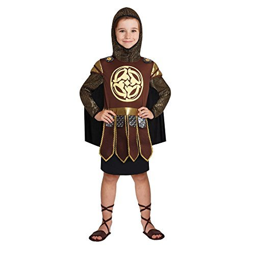 Totally Ghoul Warrior Prince Costume, Size: Boys Medium