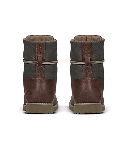 The Lace Ballard Cub North Canvas Brown Face Green Olive Womens Coated amp; II Burnt r7qrItw