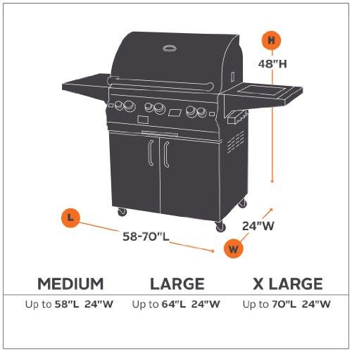 Classic Accessories Patio Medium BBQ Grill Cover