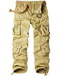 Men's Outdoor Wild Military 8 Pockets Cargo Pant