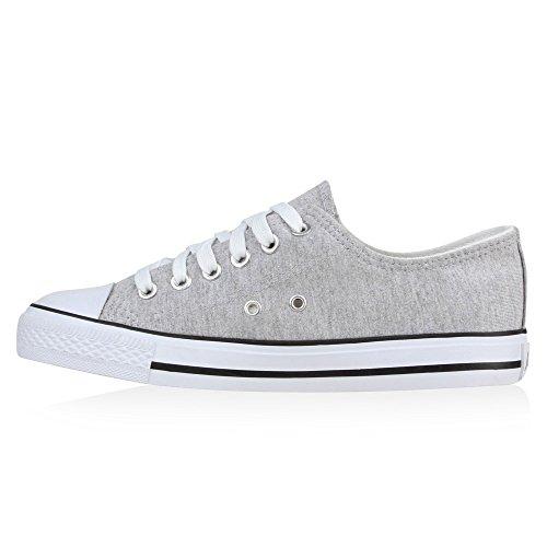 Stiefelparadies Grigio Grigio grigio Sneaker Grigio Donna Stiefelparadies Donna grigio Sneaker Stiefelparadies Stiefelparadies Sneaker grigio Donna q5BnWOaZv