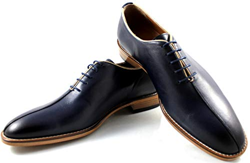 Business Toe Design In Uomo Scarpe Stile Stringate Oxford Scarpa Classica Casuale Canneri Con Blu 8123 E Pelle Split FxZRwqxzX