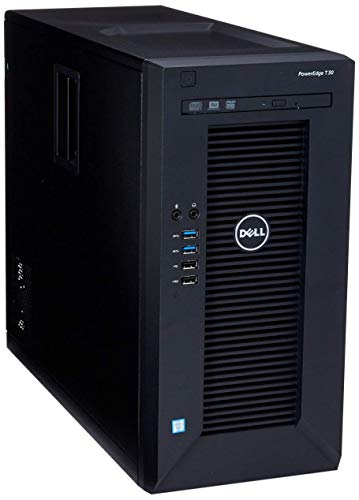 Dell PowerEdge T30 Flagship Mini-Tower Desktop | Intel Xeon E3-1225 Quad-Core 3.30 GHz | 12GB DDR4 RAM | 512GB SSD Boot + 1TB HDD | DVD±RW | USB 3.0 | No Operating System
