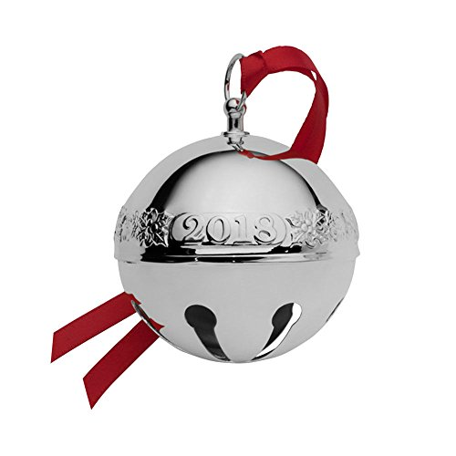 Wallace 2018 Sleigh Bell Sterling Christmas Holiday Ornament, Sterling (Wallace Sleigh Bell Christmas Ornament)