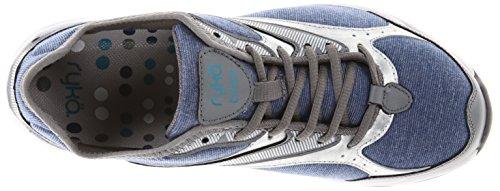 RYKA Womens Dash Stretch Walking Shoe Jet Ink Blue/Steel Grey/Chrome Silver/Diver Blue BGq9t