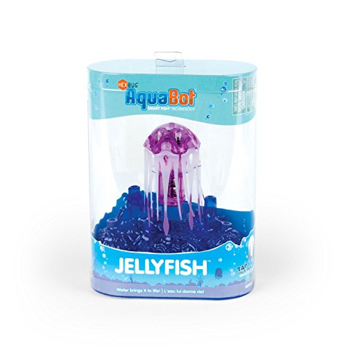 Hexbug aquabot jellyfish colors may vary import it all for Aquabot smart fish