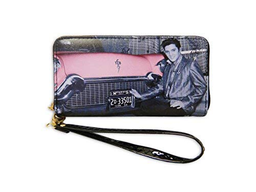 Elvis Presley Wallet With Car