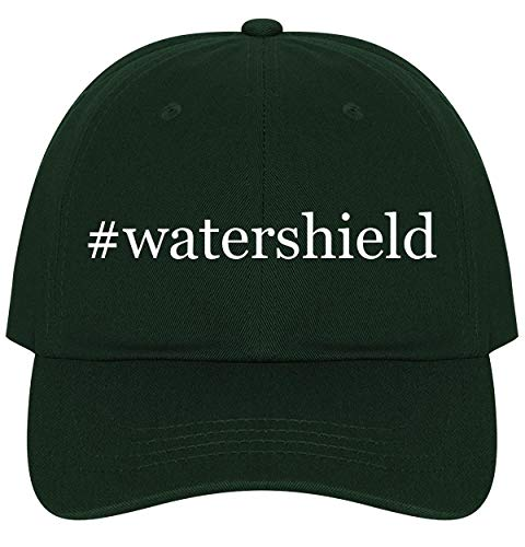 (The Town Butler #watershield - A Nice Comfortable Adjustable Hashtag Dad Hat Cap, Forest)