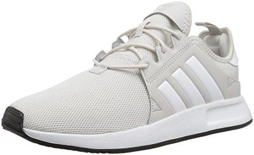 (adidas Originals Unisex X_PLR Running Shoe, Grey White, 5 M US Big)
