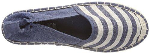 s.Oliver Women's 24212 Espadrilles Blue (Navy Glit.str.) Tq13JHrMc
