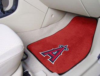 (MLB - Los Angeles Angels 2 Piece Front Car Mats)