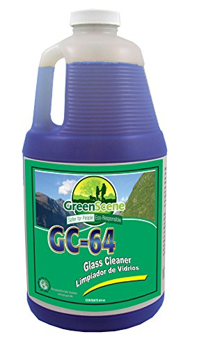 Simoniz B0446065 Blend Rite Green Scene GC-64 Glass Cleaner, 6-64 oz Bottles per Case (Pack of (Rite Blend)