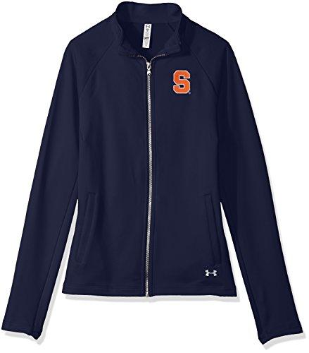 Under Armour NCAA Syracuse Orange Women's Terry Full-Zip Jacket, Large, Navy