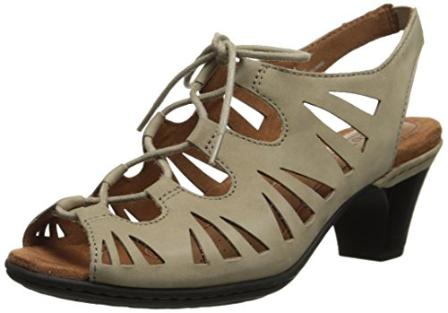 Rockport Cobb Hill Women's Sasha CH Dress Sandal,Khaki,10 W US by Cobb Hill