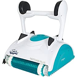 Maytronics Dolphin Neptune Plus Robotic In Ground Swimming Pool Cleaner with Caddy Cart - 99996343-US