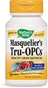 Nature's Way Tru-OPCs is an antioxidant made from grape seeds that can ben taken for skin and cascular support.