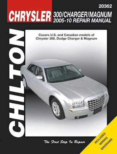 Automotive Repair Manual for Chrysler 300, Dodge Charger and Magnum 2005-'10 (20362)