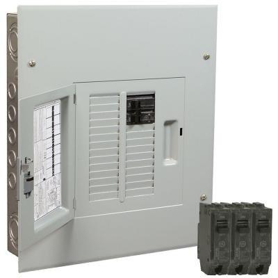 PowerMark Gold 100 AMP 12-Space 22-Circuit Indoor Main Breaker Value Kit Includes Select Circuit Breakers