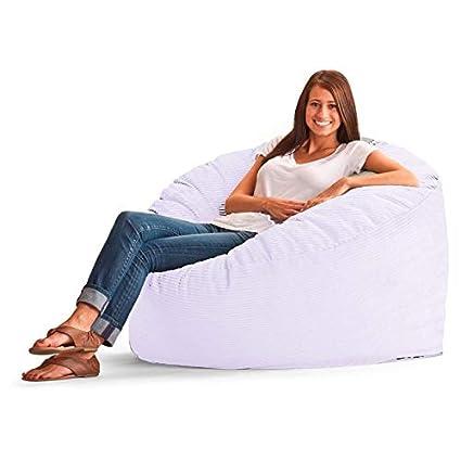 Surprising Amazon Com Healthybusiness1 1 Pc Luxurious Corduroy Bean Evergreenethics Interior Chair Design Evergreenethicsorg