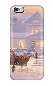 Hot Design Premium LvpFRFJ48FPrIa Tpu Case Cover Iphone 6 Plus Protection Case(animated Christmas For Desktop)
