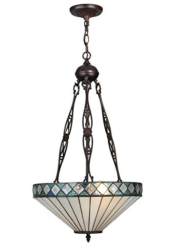 "Meyda Tiffany 134525 Lighting, 16"" Width, Finish: Mahogany Bronze from Meyda Tiffany"