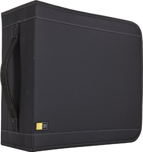 Case Logic CD/DVDW-320 336 Capacity Classic CD/DVD Wallet - / Nylon Cd Disc Dvd