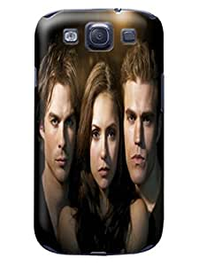 2014 most stylish pattern tpu skin back cover case with texture for Samsung Galaxy s3 of The Vampire Diarie in Fashion E-Mall