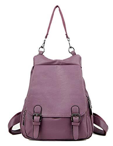 à Mode Femme AalarDom Zippers Cuir bandoulière TSFBI181679 Noir Sacs Violet Sacs PU des AxwHw85g