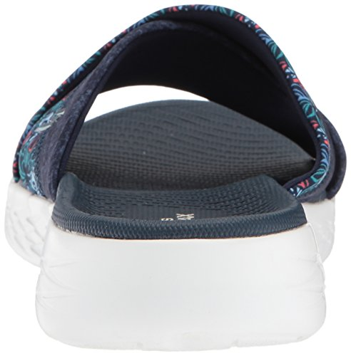 Skechers monarch De Mujer Azul Sandalias Plataforma the Para 600 On go navy BpBrqH