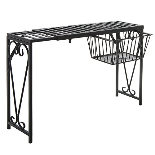 Buy wrought iron shelves for kitchen